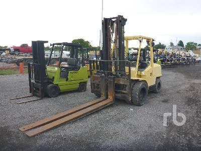 1990 HYSTER H110XM 11000 Lb Forklift