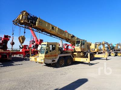1996 GROVE TMS750B 45 Ton T/A T/A Hydraulic Truck Crane
