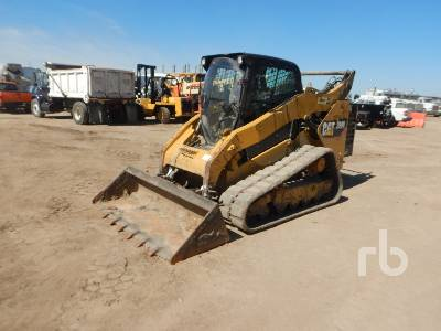 2016 CATERPILLAR 299D Compact Track Loader