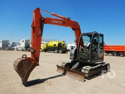 2010 HITACHI ZX75US-3 Midi Excavator (5 - 9.9 Tons)