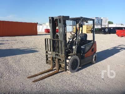2013 DOOSAN D25S5 5000 Lb Forklift