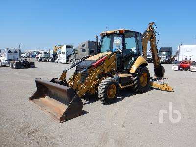2012 CATERPILLAR 430F 4x4 Loader Backhoe