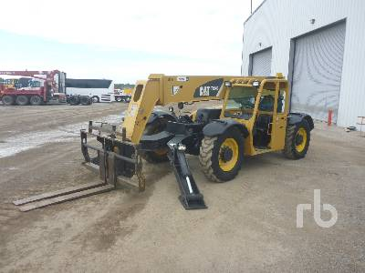 2007 CATERPILLAR TL943 9000 Lb 4x4x4 Telescopic Forklift