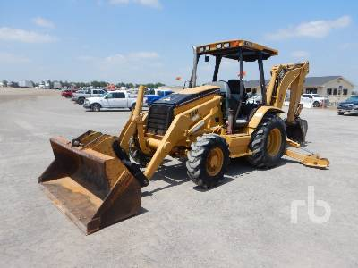 2005 CATERPILLAR 416D 4x4 Loader Backhoe