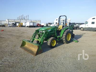 2015 JOHN DEERE 4044M MFWD Tractor