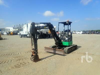 2014 JOHN DEERE 35G Mini Excavator (1 - 4.9 Tons)