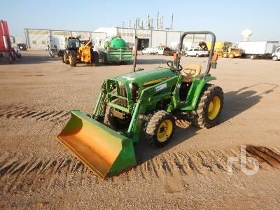 2014 JOHN DEERE 3032E-D160 Utility Tractor