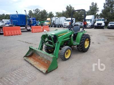 2015 JOHN DEERE 3032E-D160 4WD Utility Tractor