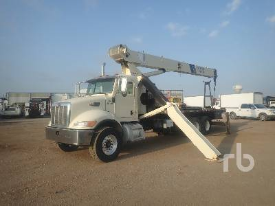 2005 PETERBILT 335 T/A w/National 11105 53900 Lb Boom Truck