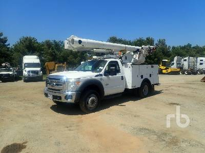 2012 FORD F550 XL 4x4 w/Altec L37MR Bucket Truck