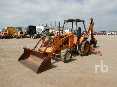1978 CASE 580C Loader Backhoe