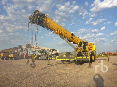 2013 GROVE RT890E 90 Ton 4x4 w/rear steer Rough Terrain Crane