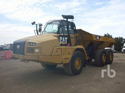 2016 CATERPILLAR 725C 6x6 Articulated Dump Truck