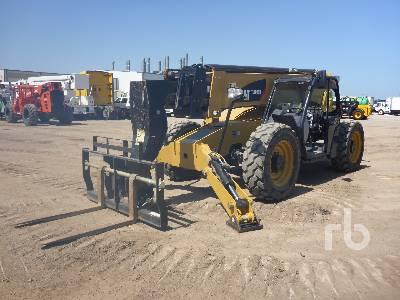 2015 CATERPILLAR TL1055D 10000 Lb 4x4x4 Telescopic Forklift