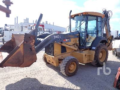 2012 JOHN DEERE 310J Loader Backhoe