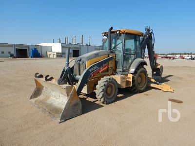 2015 JOHN DEERE 310SL 4x4 Loader Backhoe