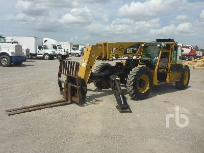 2008 CATERPILLAR TL943 9000 Lb 4x4x4 Telescopic Forklift