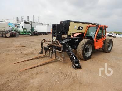 2017 JLG 1055 10000 Lb 4x4x4 Telescopic Forklift