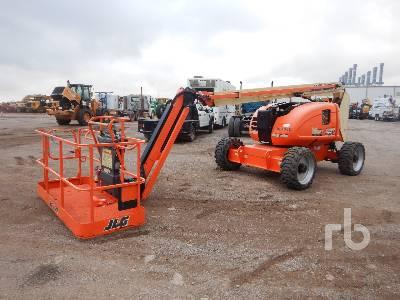 2017 JLG 600AJ 4x4 Boom Lift