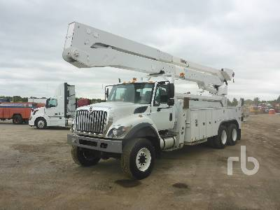 2012 INTERNATIONAL 7400 WorkStar 6x6 w/Altec A77-TE93 Bucket Truck