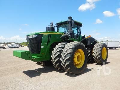2017 JOHN DEERE 9570R Scraper Special 4WD Tractor