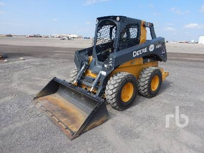JOHN DEERE 332G 2 Spd Skid Steer Loader