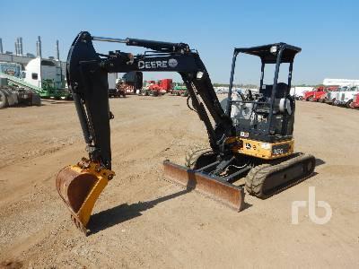 2015 JOHN DEERE 35G Mini Excavator (1 - 4.9 Tons)