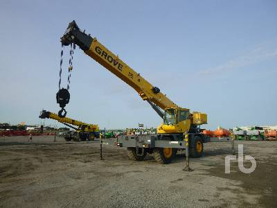 2008 GROVE RT530E-2 30 Ton 4x4x4 Rough Terrain Crane