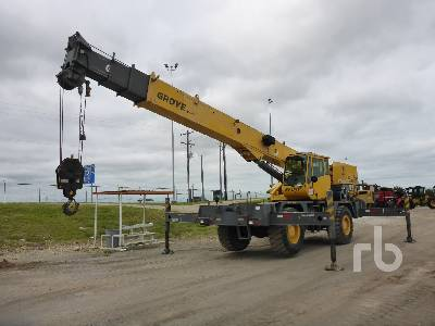 2011 GROVE RT530E-2 4x4x4 Rough Terrain Crane