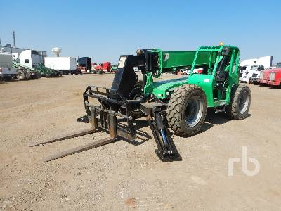 2014 SKYTRAK 10042 10000 Lb 4x4x4 Telescopic Forklift