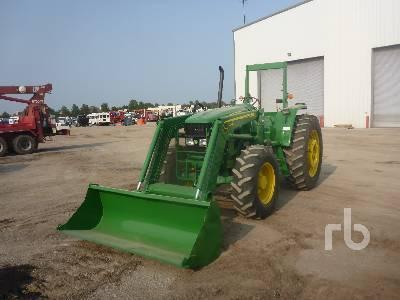 JOHN DEERE 6115D MFWD Tractor