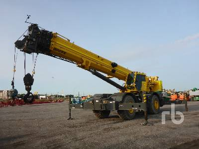 2013 GROVE RT890E 90 Ton 4x4 Rough Terrain Crane