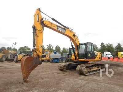 2012 JCB JS220LC Hydraulic Excavator