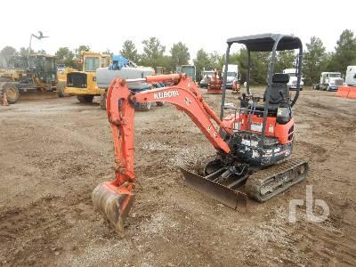 2014 KUBOTA U17VR1 Mini Excavator (1 - 4.9 Tons)