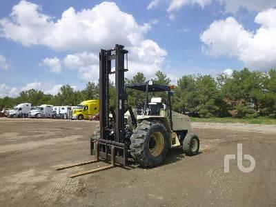 INGERSOLL-RAND RT706J2 6000 Lb Rough Terrain Forklift