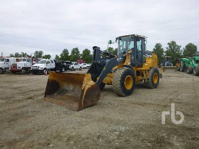 2013 JOHN DEERE 624K High Lift Wheel Loader