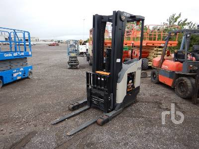 2019 CROWN RR5725-45 4000 Lb Stand Up Electric Forklift