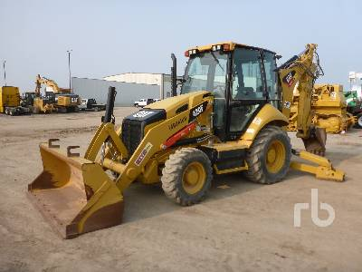 2016 CATERPILLAR 420F 4x4 Loader Backhoe