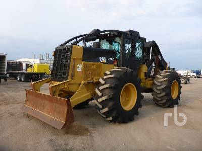 2014 CATERPILLAR 525C Rubber-Tired Grapple Skidder