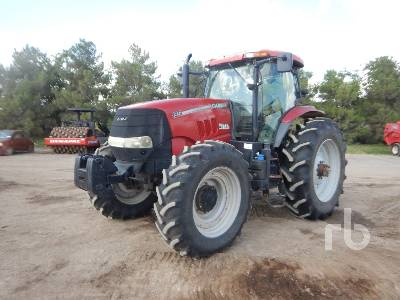 2014 CASE IH PUMA 185 MFWD Tractor