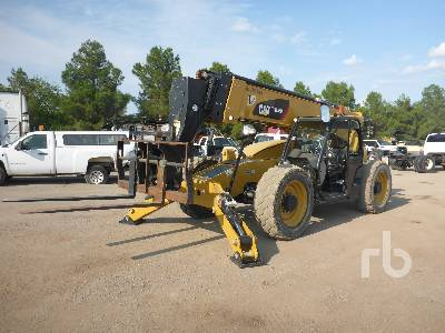 2017 CATERPILLAR TL1255D 12000 Lb 4x4 Telescopic Forklift