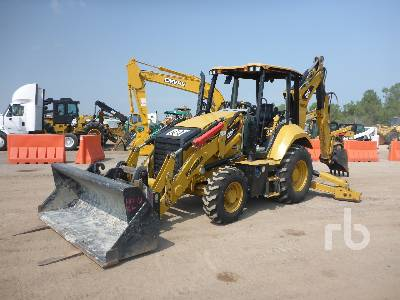 2018 CATERPILLAR 420F2IT 4x4 Loader Backhoe