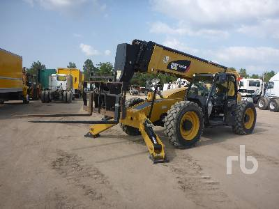 2016 CATERPILLAR TL1255D 12000 Lb 4x4x4 Telescopic Forklift