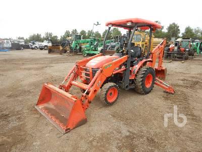 2015 KUBOTA BT820 4WD Utility Tractor