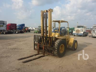 HYSTER P60A 6100 Lb Rough Terrain Forklift