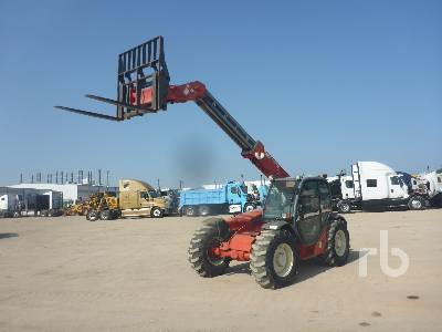 2002 MANITOU MLT629T Telescopic Forklift