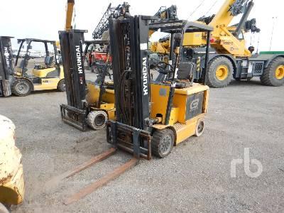 HYUNDAI HBF25C7 4550 Lb Electric Forklift