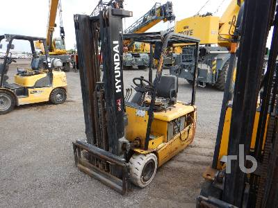 HYUNDAI 20BT7 3700 Lb Electric Forklift