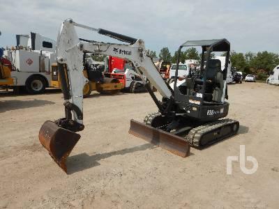 2011 BOBCAT E35 Mini Excavator (1 - 4.9 Tons)
