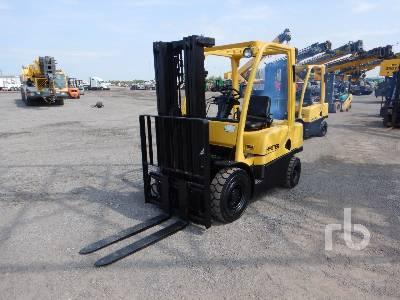 2012 HYSTER H50FT 3950 Lb Forklift
